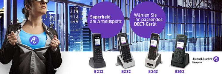 Alcatel Lucent Dect Serie