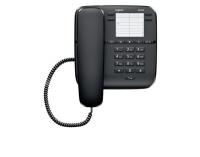 Gigaset DA310 Festnetztelefon mit 4 Kurzwahltasten schwarz