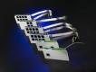 Agfeo Modulfrontplatte LAN-Modul 508 / 509 / S2M-Modul 500 perlgrau