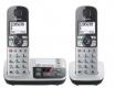 Panasonic KX-TGE522GS silber/schw. Seniorentel./SOS-Taste/AB