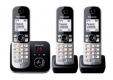 Panasonic KX-TG6823GB schwarz DECT/AB