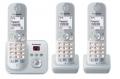 Panasonic KX-TG6823GS perlsilber DECT/AB