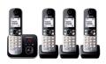Panasonic KX-TG6824GB schwarz DECT/AB