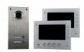 AE 2 Fam. Farb-Videotürsprechanlage Set 2