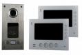 AE 2 Fam. RFID Farb-Videotürsprechanlage Set 2