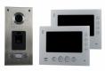 AE 2 Fam. Fingerabdruck Farb-Videotürsprechanlage Set 2