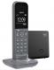 Gigaset CL390A - Designerschnurlostelefon mit AB dunkelgrau