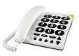 doro PhoneEasy 311c weiss Telefon/Großstasten