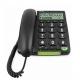 doro PhoneEasy 312cs schwarz Telefon/Großstasten